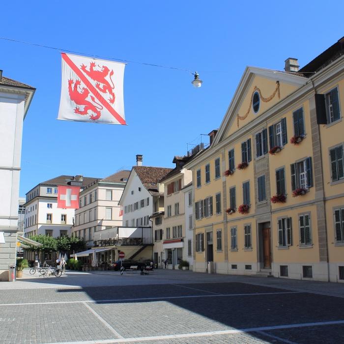 flags in Winterthur